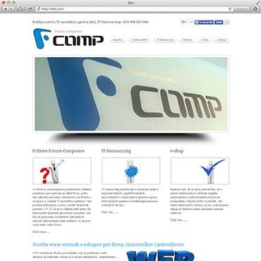 Сайт компанії «Fcomp»