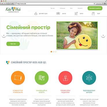 Сайт для «KidsHub»